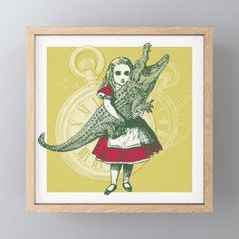 Tangled Tales - Alice in Neverland Framed Mini Art Print