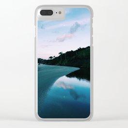 Lagoon Clear iPhone Case