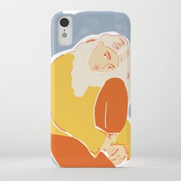 Feeling Blue iPhone Case