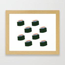 Itadakimasuuu Framed Art Print