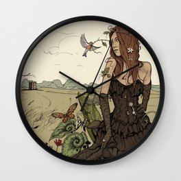 Twists and Turns Wall Clock