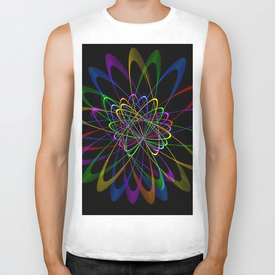 Abstract perfektion 79 Biker Tank