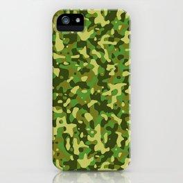 Flecktarn Jungle Camo iPhone Case