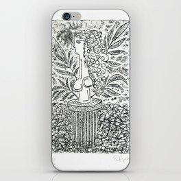Sculpture in Garden iPhone Skin