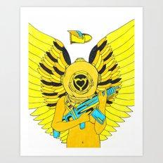 Heartbreaker: Nectar Art Print