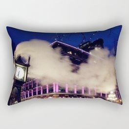 That Starry Night at Gastown Rectangular Pillow