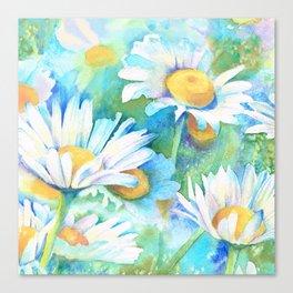 Happy Daisies Canvas Print