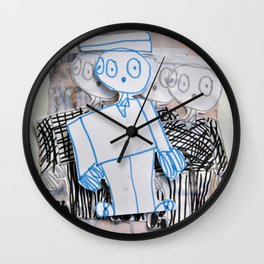 PEOPLE iN SUiTS Wall Clock