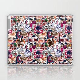 Cleveland Sticker Wall Laptop & iPad Skin