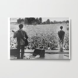 Liam Gallagher Poster OASIS Knebworth Poster Slane Castle Poster Oasis print A2 Poster 250GSM Knebworth 1996 - ICONIC Liam Gallagher Metal Print