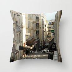 Montmartre, Paris Throw Pillow