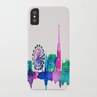 vienna iPhone & iPod Cases featuring Vienna by Talula Christian