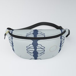 Clounds and circles Fanny Pack
