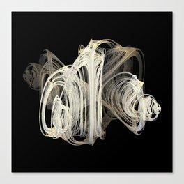 3D Fractal Skein Canvas Print