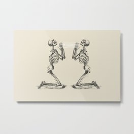 Cradle Metal Print