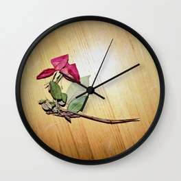 one for everything we've lost Wall Clock