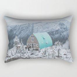 Lone Cabin II Rectangular Pillow