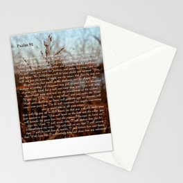 Psalm 91 #classic Stationery Cards