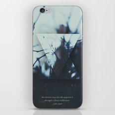 The clearest way. iPhone & iPod Skin