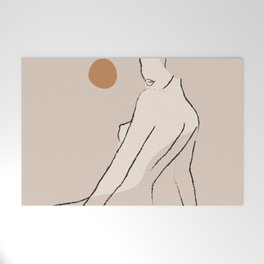 Nude 2 Welcome Mat