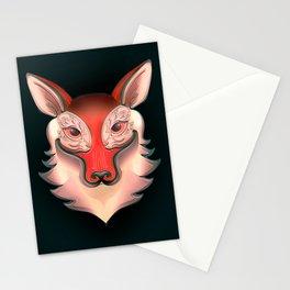 Fox Rabbit Stationery Cards