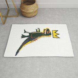 Dinosaur: Homage to Basquiat Rug