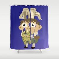 greg guillemin Shower Curtains featuring Greg by pokegirl93