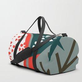 Pomegranate - contemporary Duffle Bag
