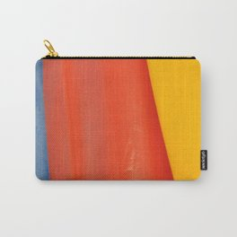 Blue Red & Yellow Carry-All Pouch