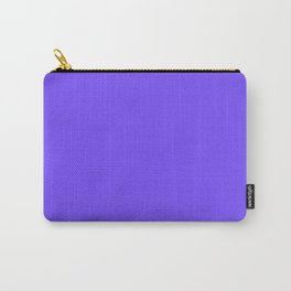 Periwinkle Orchid : Solid Color Carry-All Pouch