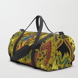 Zentangle #2b Duffle Bag