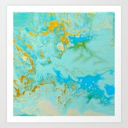Aerial Journeys 1-Diptych Art Print