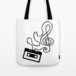 Clef Tape Tote Bag