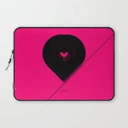 CRYPTIC HIPSTER HEART. Laptop Sleeve