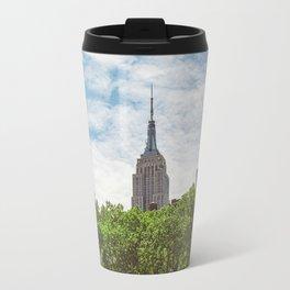Color Empire State Building Travel Mug