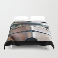 stormtrooper Duvet Covers featuring Stormtrooper by Mel Hampson