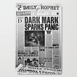 Daily Prophet newspaper Cutting Board