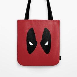 Deadpool Mask Tote Bag