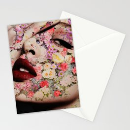 Flowered skin lll Stationery Cards