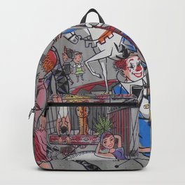 Vintage poster - Circus #2 Backpack