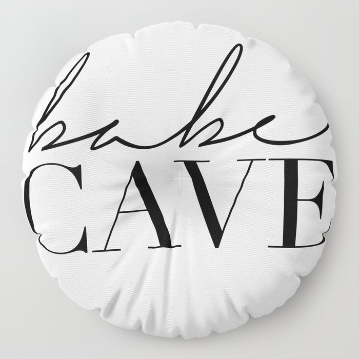 babe cave Floor Pillow