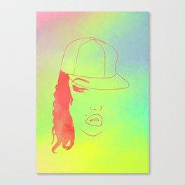 Hip Hop Girl 1 Canvas Print