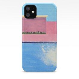 Splash! after David Hockney iPhone Case