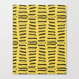 Wiggles and Squares Canvas Print