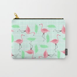 Let's Flamingle Carry-All Pouch