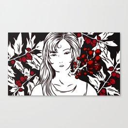 poisonous. Canvas Print