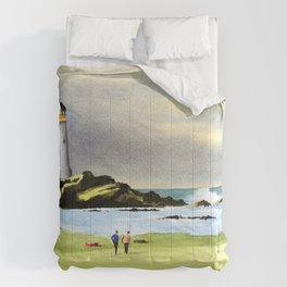 Turnberry Golf Course Scotland 10th Green Comforters