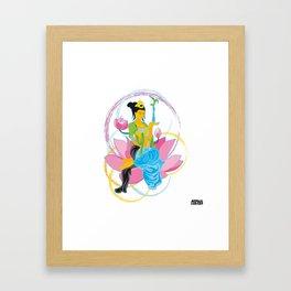 01 - KUANYING Framed Art Print