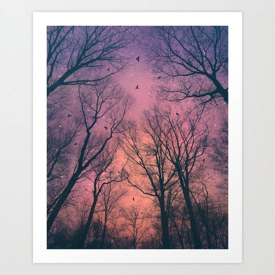 When the Dawn Is Still Dark Art Print
