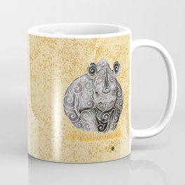 Swirly Rhino Coffee Mug